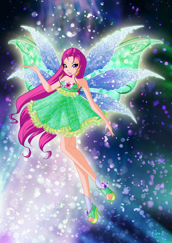 El Club Winx fondo de pantalla called Roxy Mythix