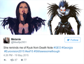 Ryuk look-alike - death-note photo