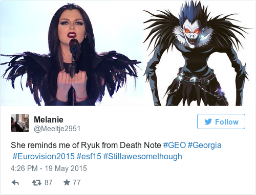death note wallpaper possibly containing anime titled Ryuk look-alike
