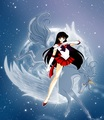 Sailor Mars on Pegasus