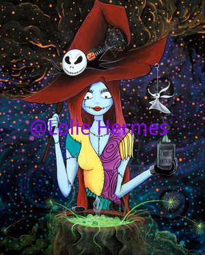 Sally Skellington the Witch