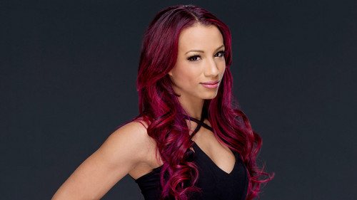 Звезды WWE Обои probably containing a portrait titled Sasha Banks