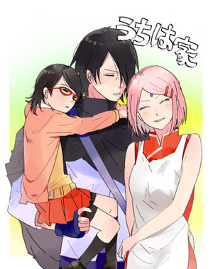 Sasuke and Sarada pictures... 당신 can't say 당신 don't 사랑 them!