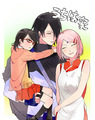 Sasuke and Sarada pictures... You can't say you don't love them!  - sasusaku photo