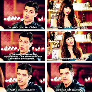 Schmidt and Cece♥