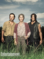 Season 6 EW Cover ~ Rick, Carol and Daryl