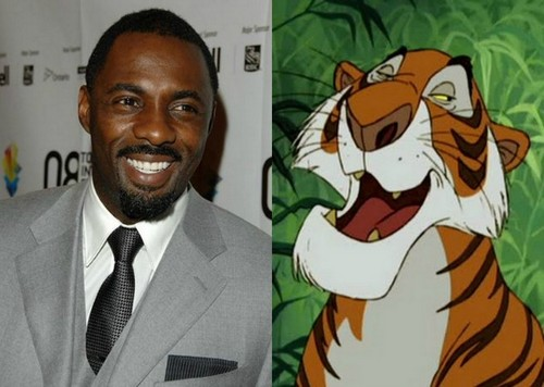 The Jungle Book wallpaper possibly containing anime titled Shere Khan and Idris Elba