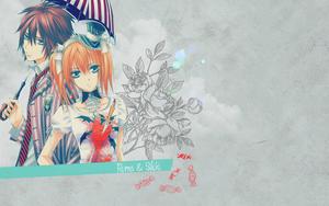 Shiki/Rima fondo de pantalla