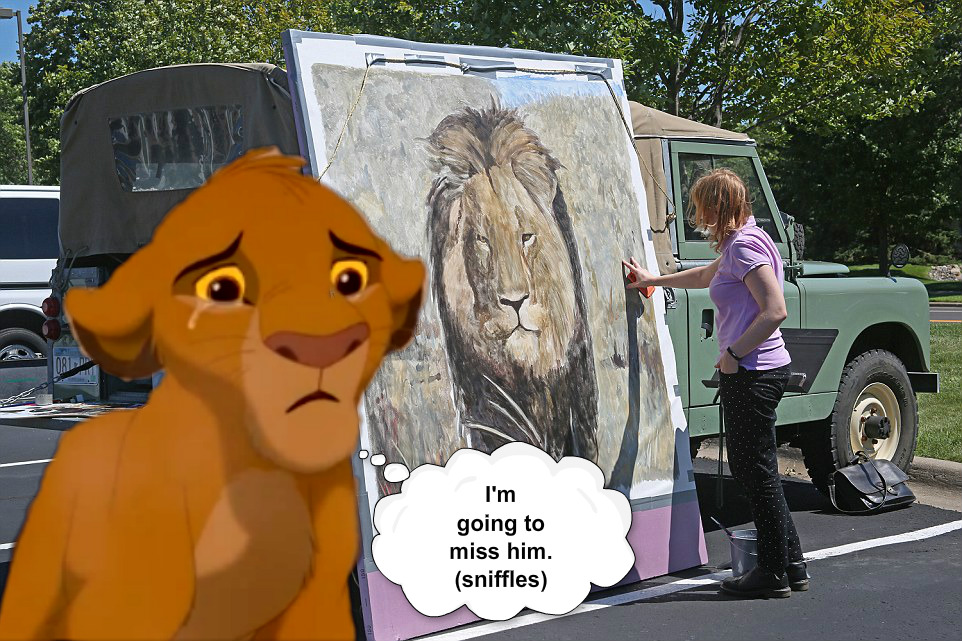Simba misses Cecil
