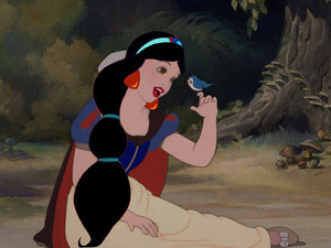 Snow White With Jasmine's Hair