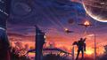 Soldiers - fantasy wallpaper