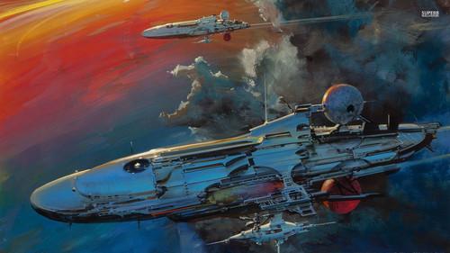 Science News kertas dinding titled Spacecraft