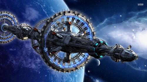 Science News kertas dinding called Spacecraft