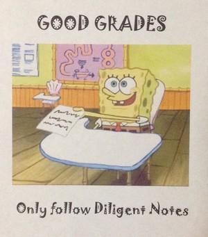 SpongeBob Motivational Poster
