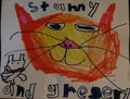 Stampy and Gregory Von Veronica, age 7