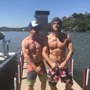 Stephen Amell and Jared