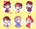 Studio Ghibli Heroines - childhood-animated-movie-heroines fan art