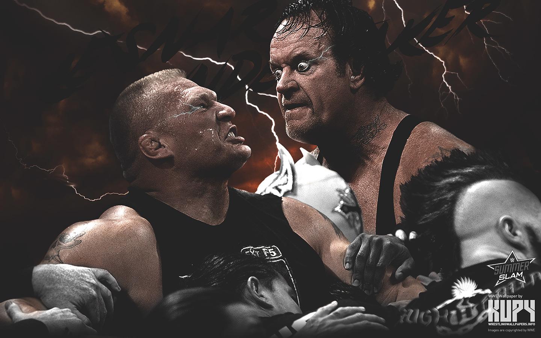 SummerSlam 2015 - Brock Lesnar vs The Undertaker
