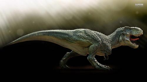 Dinosaurs wallpaper titled T-Rex