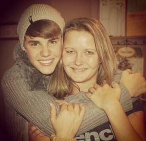 Tammy Bieber and Justin Bieber