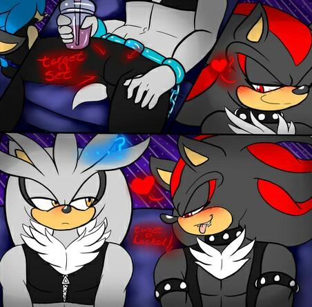 Sonic Yaoi karatasi la kupamba ukuta containing anime entitled Target locked