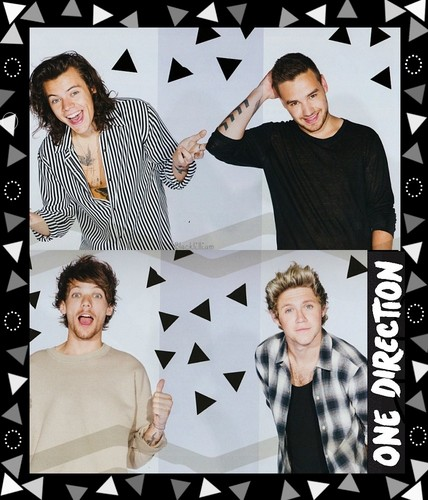 One Direction wallpaper with a sign called The Annual Calendar 2016