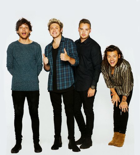 One Direction Обои with an outerwear and long trousers entitled The Annual Calendar 2016