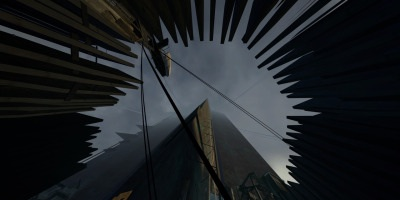 Half Life wallpaper with a tepee called The Citadel