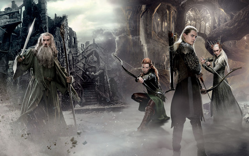 Legolas Greenleaf Hintergrund Called The Hobbit Desolation Of Smaug