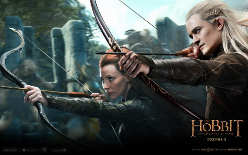 Legolas Greenleaf wallpaper entitled The Hobbit: The Desolation of Smaug