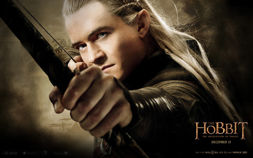 Legolas Greenleaf Wallpaper Probably Containing A Portrait Entitled The Hobbit Desolation Of Smaug