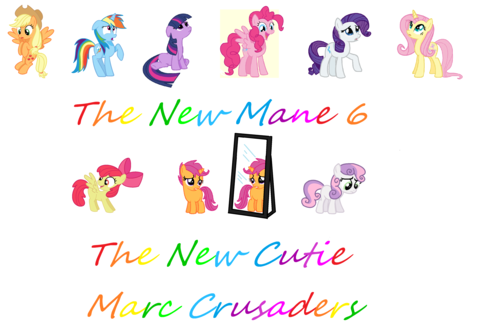 My Little pony wallpaper called The New My little Ponies