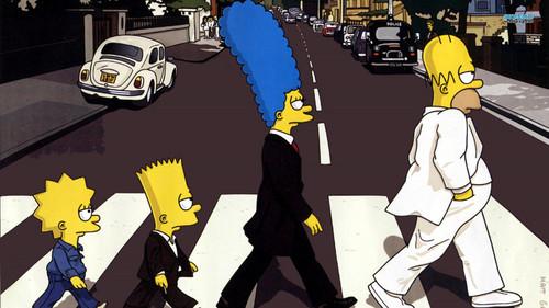 辛普森一家 壁纸 with 日本动漫 titled The Simpsons