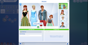 The Westergard Family in The Sims 4