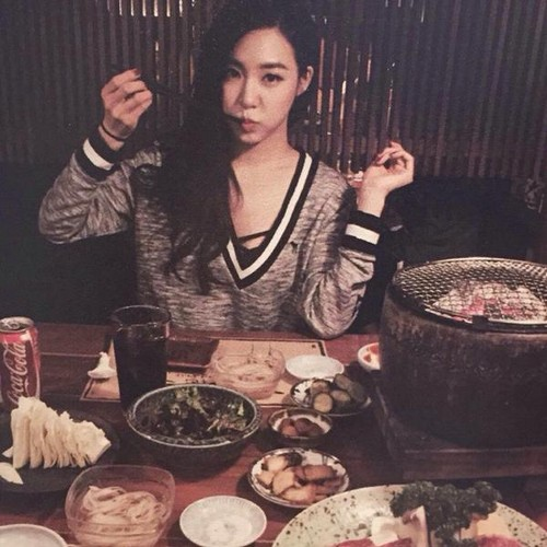 Tiffany Hwang wallpaper with a holiday dinner and a dinner called Tiffany Birthday Party Photobook