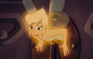 Tinkerbell with short hair