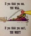 Train Motivational Poster