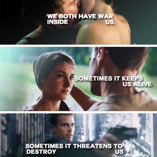 Four And Tris Insurgent Movie | www.pixshark.com - Images