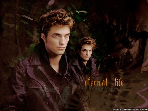 Сумерки (серия романов) Обои called Twilight - (Edward Cullen).