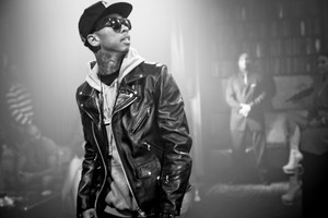 Tyga Black And White Picture