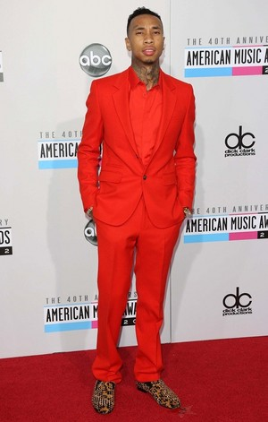 Tyga at American muziek Awards