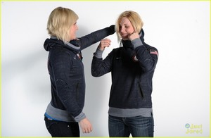 USOC Portraits - 2014 Sochi Olympics - Monique and Jocelyne Lamoureux