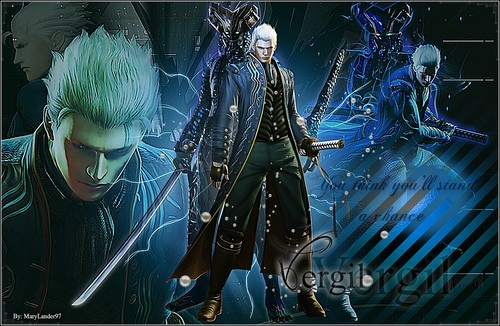 Vergil Yamato Sword Hd Wallpaper: Vergil Images Vergil HD Wallpaper And Background Photos
