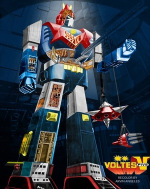 Voltes V in Repair Center