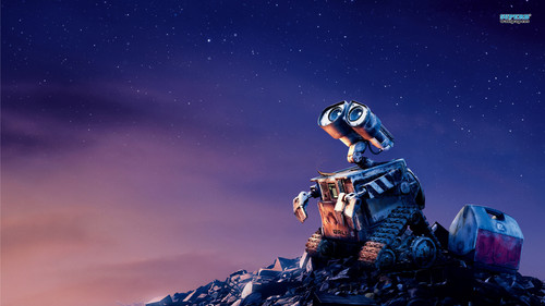 Pixar wallpaper possibly containing a fountain called Wall-E