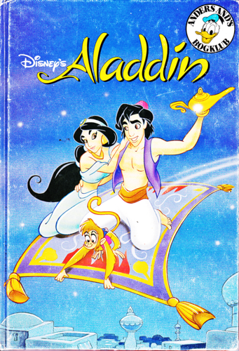 Walt Disney Characters karatasi la kupamba ukuta containing anime titled Walt Disney Book Covers - Aladin