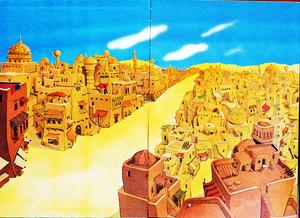 Walt Disney Book images - Agrabah