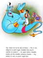 Walt Disney Book تصاویر - Genie, Prince Aladdin, Abu & Carpet