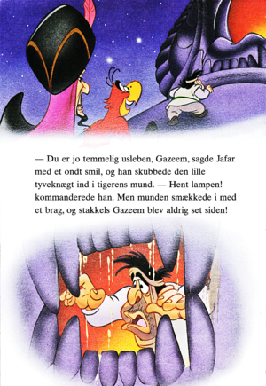 Walt Disney Book images - Jafar Iago & Gazeem