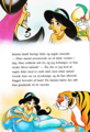 Walt Disney Book Bilder - Jafar, Princess Jasmine, The Sultan & Rajah